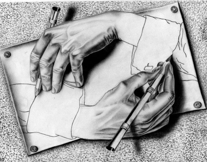 G del, Escher, Bach -